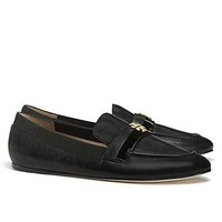Tory Burch Jolie Loafer Flat Leather Shoes