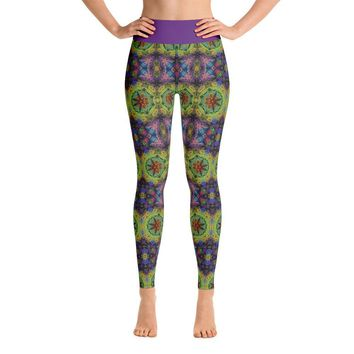 """Colliding Galaxies"" Deluxe Yoga Pants"