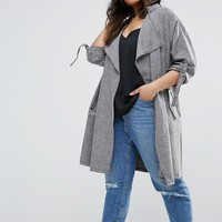 New Look Plus Duster Jacket at asos.com