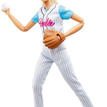 Mattel® Barbie® Made to Move Baseball Player Doll