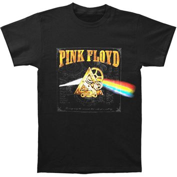 Pink Floyd Men's  Steampunk Dark Side of the Moon T-shirt Black