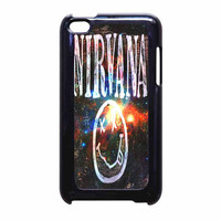 Nirvana Wood Sign Art Galaxy iPod Touch 4th Generation Case