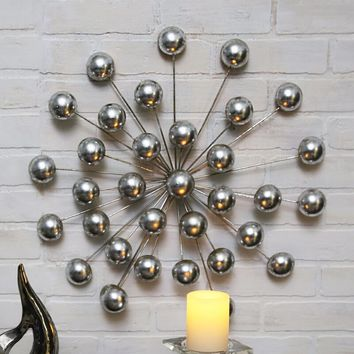 Modern Multi Orb Wall Décor