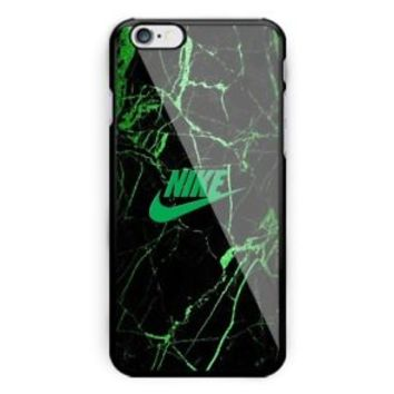 Best Nike_ Marble Green Logo iPhone 7 and 7 Plus Hard Plastic Case