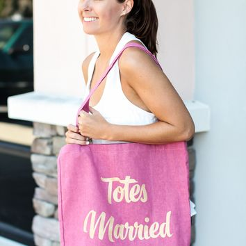 Totes Married - Canvas Tote Bag