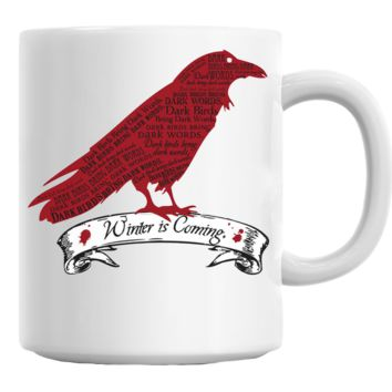 Winter is Coming Bird (Game of Thrones) Mug