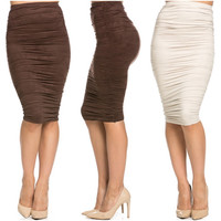 Gaby Ruched Skirt