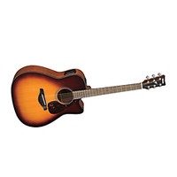 Yamaha FGX700SC Solid Top Cutaway Acoustic-Electric Guitar | GuitarCenter