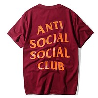 Assc Woman Men Fashion Casual Shirt Top Tee