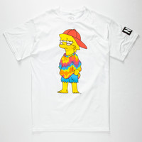 NEFF x The Simpsons Yung Lisa Mens T-Shirt | Neff x The Simpsons
