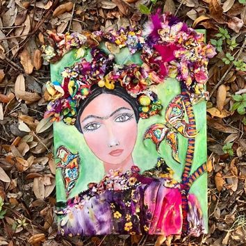 Frida Art. Autumn Frida