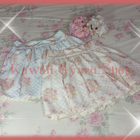 Liz Lisa / My Melody 2015 Collaboration Gingham Sukapan (NwoT)