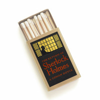 The Return of Sherlock Holmes Matchbox - Literary Matches - Vintage Wedding Favors - Mystery Party Favors - Whodunit Dinner Party Book Gifts