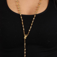 The Classic Rosary in Gold