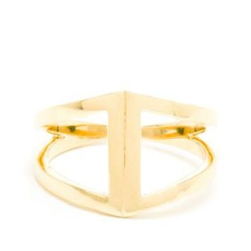 NOOR FARES | Rhombus 18k Yellow Gold Ring | Browns fashion & designer clothes & clothing