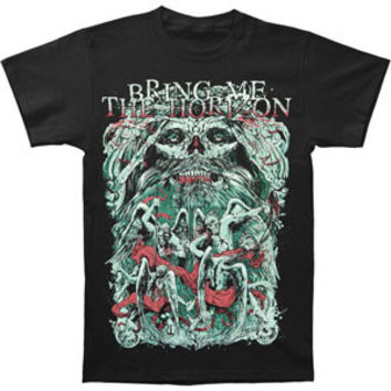 Bring Me The Horizon Men's  Belanger T-shirt Black Rockabilia