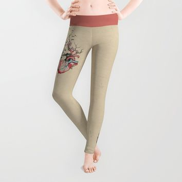 Split/Merge Leggings by EDrawings38
