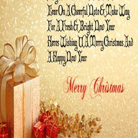Happy Merry Christmas Day Photo Cards | Merry Christmas Greeting Cards - Happy Christmas Day 2016