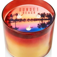 3-Wick Candle Sunset Beach