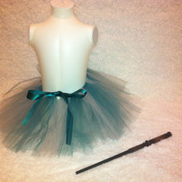 Slytherin House Tutu for Girls by Dressupcastle on Etsy