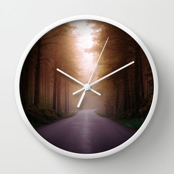 Where are you Wall Clock by HappyMelvin