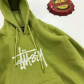 Stussy Fashion Hooded Sport Top Sweater Sweatshirt Hoodie