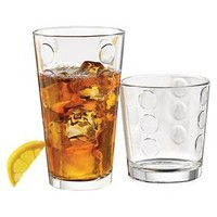 Libbey® 12pc Dot Pattern Assorted Tumblers : Target
