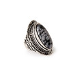Faux Marble Stone Ring
