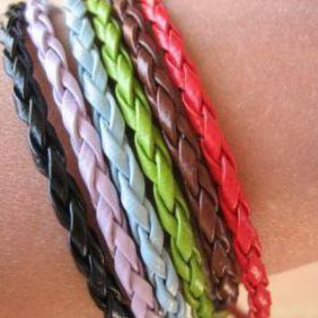 6PCS - Braided Imitation Leather Br.. on Luulla