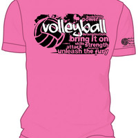 Midwest Volleyball Warehouse - PINK VB Bring It On Motivational T