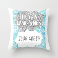 The Fault in Our Stars Throw Pillow by S. L. Hurd