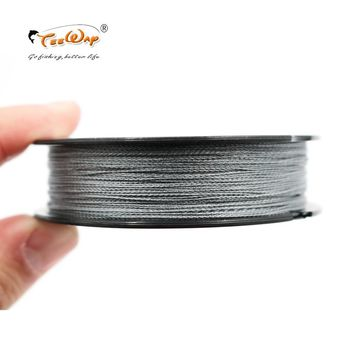 100m PE Multifilament Braided Fishing Line Carp Fishing Rope Wire Super Strong 4 Stands 6LBS-80LBS Fishing Line