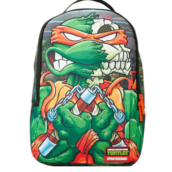 TMNT Mikey Skull Backpack (SPRAYGROUND)