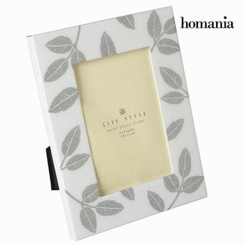 White metal photo frame by Homania