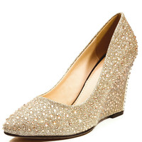 Womens Glitter High Heels Pointed toe Crystal Wedding Shoes Black GOLD Bridal Pumps Shoes