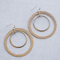 Concentric Circle Earrings