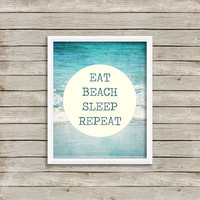 Beach Wall Art, Print 8 x 10 INSTANT Digital Download Printable