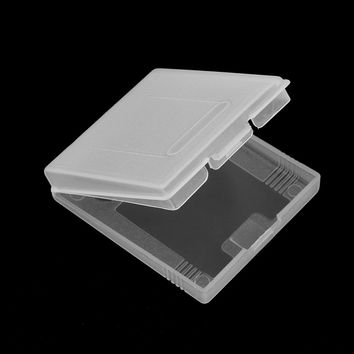 Clear Plastic Game Cartridge Cases Storage Box Protector Holder Dust Cover Replacement Shell For Nintendo GameBoy GB GBC GBP