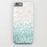 Mint Ombre Glitter iPhone & iPod Case by Heartlocked