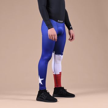 Texas Beast State Flag Tights for Men