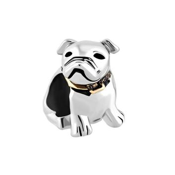 Beagle Pet Germany Bulldog Dog Charms Fits Pandora Charms Bracelets