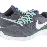 Nike Flex Experience Run 3 Cool Grey/Medium Mint/Hyper Cobalt/White - Zappos.com Free Shipping BOTH Ways