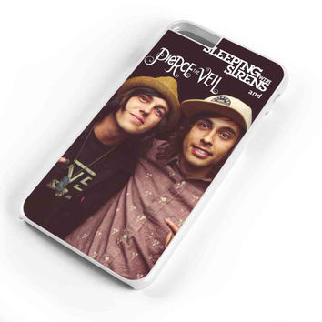 Pierce The Veil And Sleeping With Sirens American Flag iPhone 6s Plus Case iPhone 6s Case iPhone 6 Plus Case iPhone 6 Case