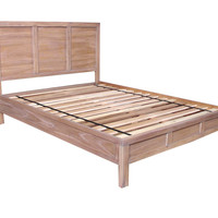 Harstad Queen Bed Mindi Wood ed