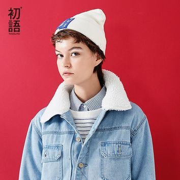 Trendy Toyouth Parkas Coats 2017 Winter Women Casual Patchwork Wool Lambs Turn Down Collar Fashion Denim Jacket AT_94_13