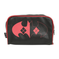 DC Comics Batman Harley Quinn Logo Cosmetic Bag
