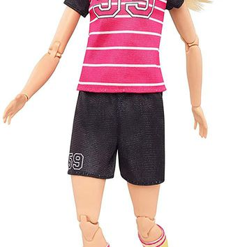 Mattel® Barbie® Made to Move Soccer Player Doll