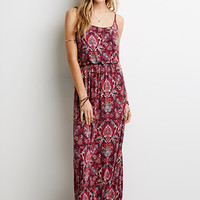 Paisley Print Cami Maxi Dress