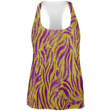Mardi Gras Cajun Tiger Costume All Over Womens Work Out Tank Top