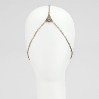Full Tilt Filigree Head Chain Gold One Size For Women 24738962101